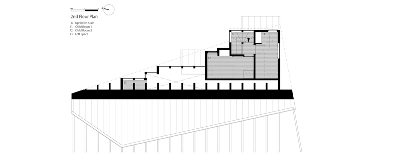 Arquitectura y Empresa, Japón, arquitectura japonesa, Nara, vivienda, unifamiliar, casa, Katsuya Taira, Fujiwaramuro Architects, cubierta inclinada, minimalismo, minimalista