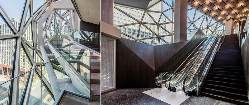 Arquitectura y Empresa, OMA, Galleria Gwanggyo, Seúl, Corea del Sur, centro comercial, fachada, fachada vidrio, ciudad, tienda, Chris Van Duijn