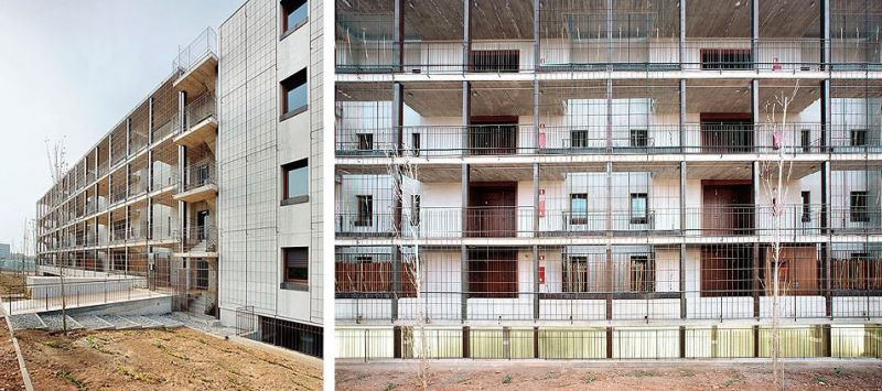 80 viviendas VPO Toni Gironès - vista general
