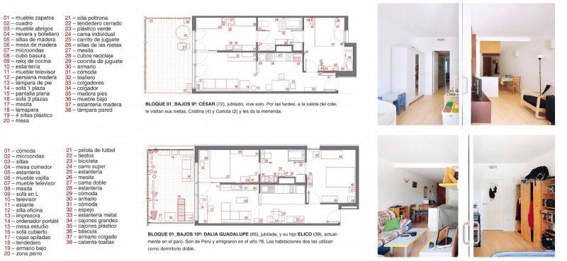 80 viviendas VPO Toni Gironès - tipos de distribución