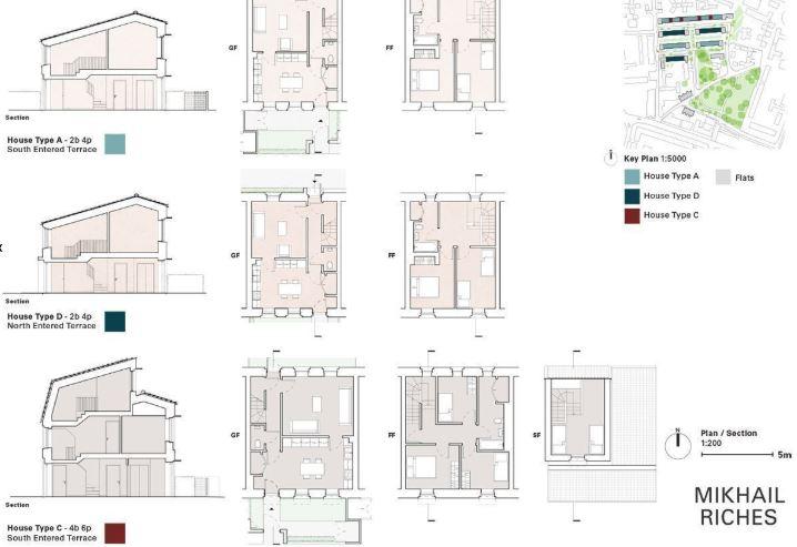 arquitectura_y_empresa_Goldmith Street_plantas tipo