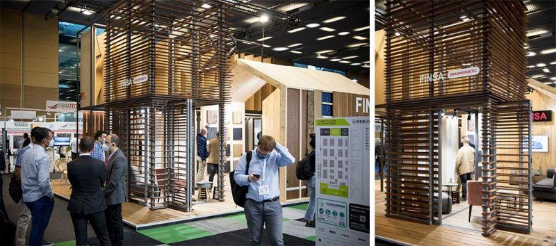 arquitectura gradhermetic finsa gradpanel thermopine stand rebuild 2020