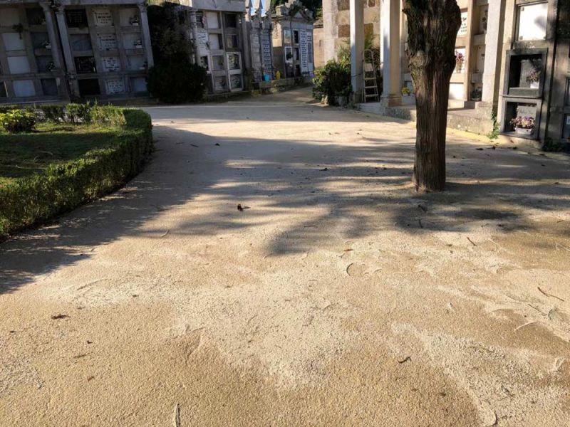 arquitectura heidelberg cement hispania pavimento cementerio pereiro i.pro stabex`r