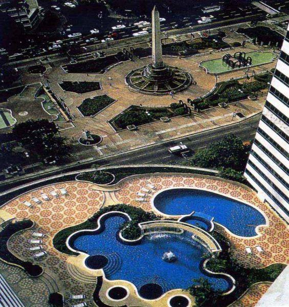 Hotel Caracas Palace paisajismo de John-Stoddart
