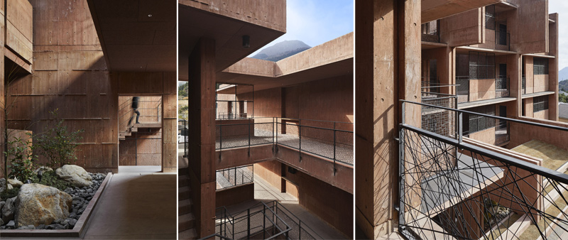 Arquitectura y Empresa, DABURA.m Inc., hotel, Japón, Japan, Hotel Midobaru, Beppu, aguas termales, hotel spa, geología, arquitectura hotelera, hostelería, vacaciones, resort