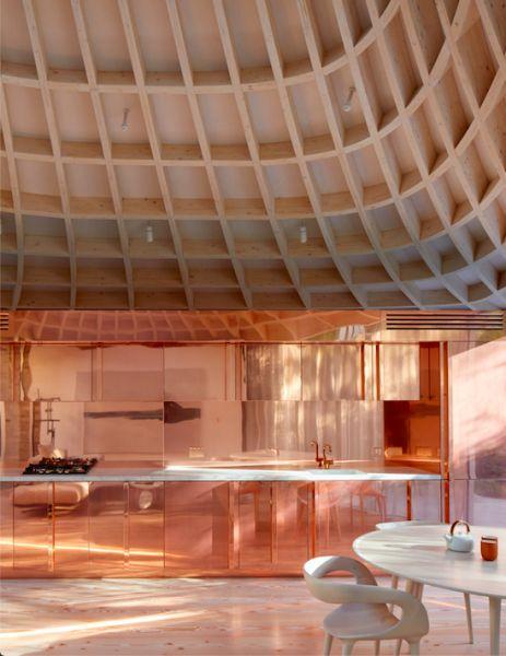 arquitectura y empresa_House_in_a_garden_cocina