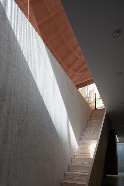 arquitectura y empresa_House_in_a_garden_escalera