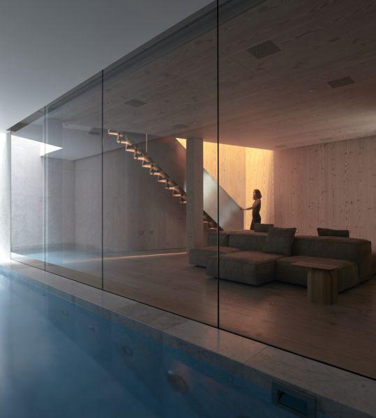 arquitectura y empresa_House_in_a_garden_sala estar piscina 2