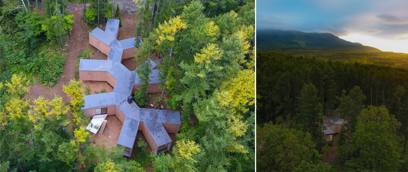 Arquitectura y Empresa, Florian Busch Architects, casa, vivienda, arquitectura resindencial, Japón, Japan, Casa en el Bosque, House in the Forest, naturaleza, conexión, casa de vacaciones