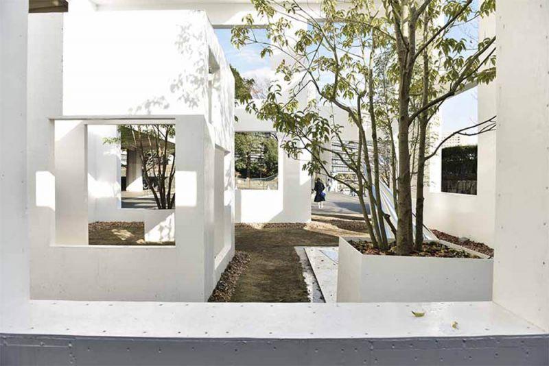 House N 6. Sou Fujimoto, 2008. Espacios residenciales que sirven a lo público y viceversa