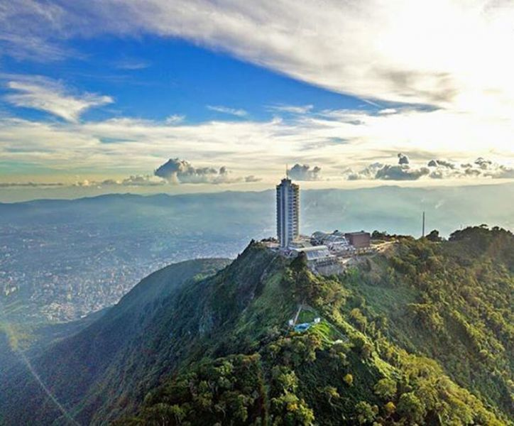 Hotel  Humbolt _ Avila_Caracas vistas