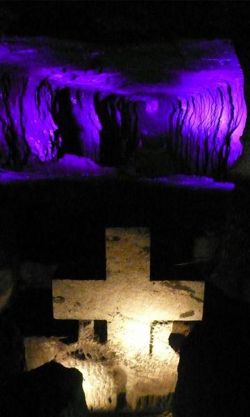 Detalles interiores de la Catedral de Sal / Fotografía de Vagabundler