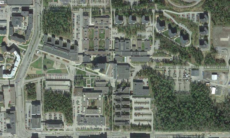 Imagen aérea del campus de TUT