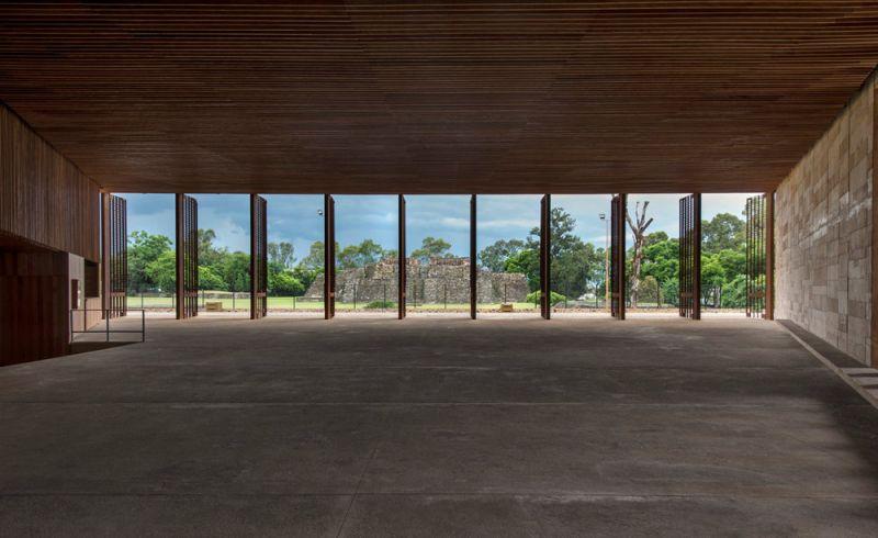 Interior del vestíbulo