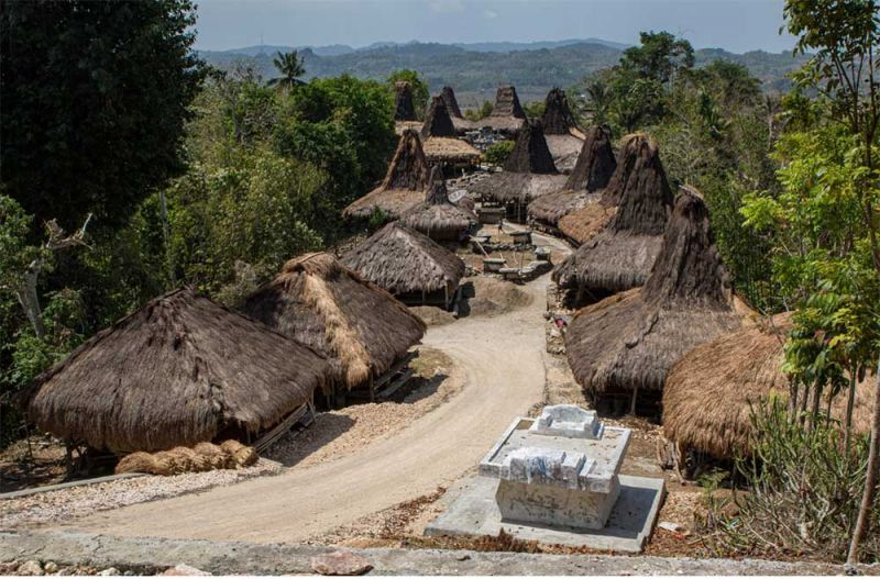 Estructura vernácula. Isla de Sumba.