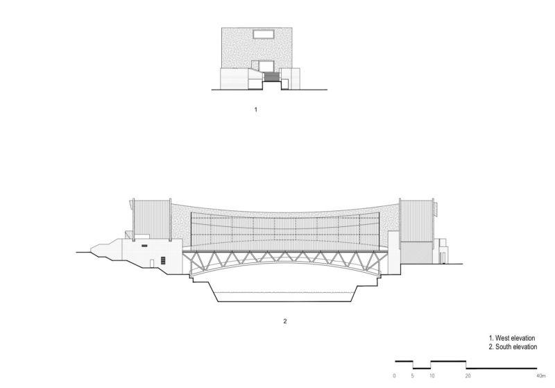 arquitectura y empresa_jishou art museum_planta