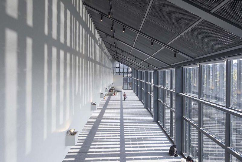 arquitectura y empresa_jishou art museum_cerramiento