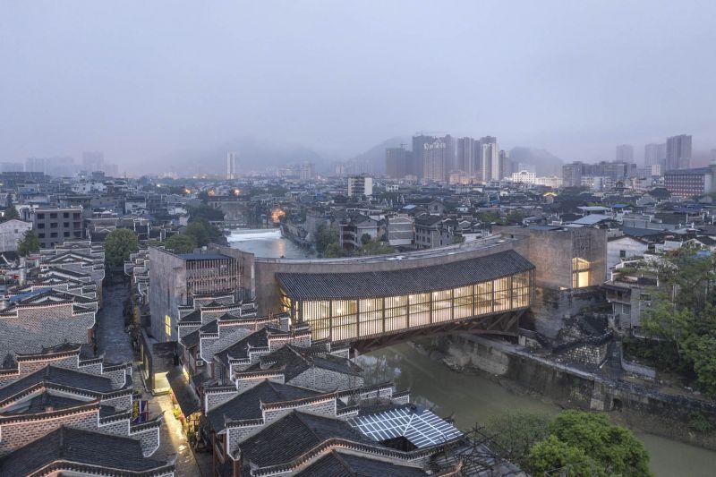 arquitectura y empresa_jishou art museum_lugar
