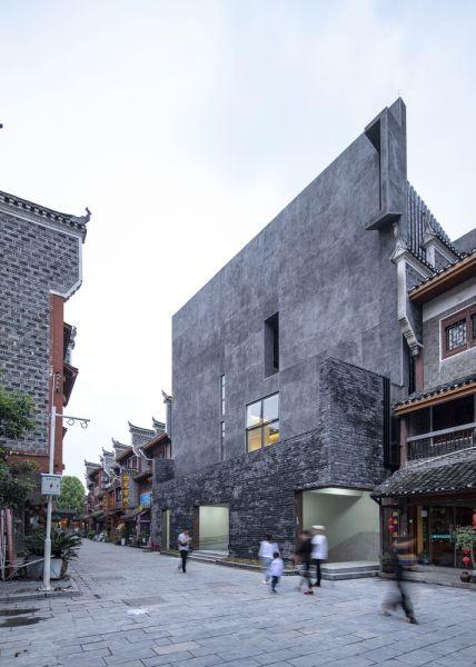 arquitectura y empresa_jishou art museum_entrada