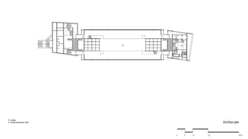 arquitectura y empresa_jishou art museum_planta intermedia