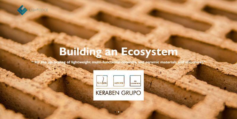 arquitectura keraben grupo proyecto lightcoce ladrillo ceramica