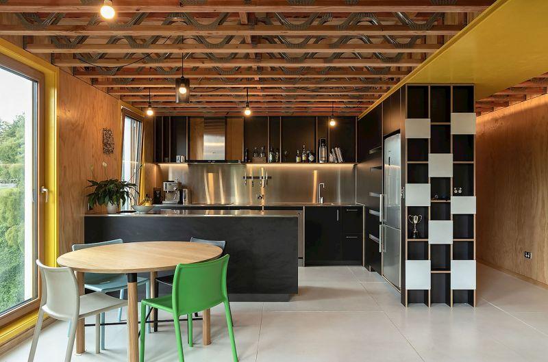 arquitectura_y_empresa_Kowhai House_cocina