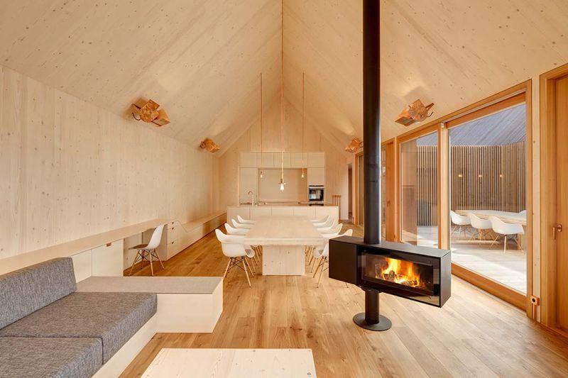 arquitectura casa de madera de KÜHNLEIN Architektur