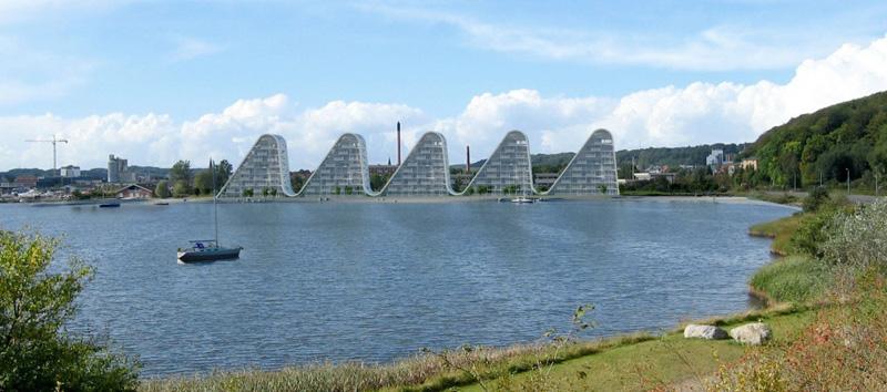 la ola _henning-larsen-architects_vista desde el lago