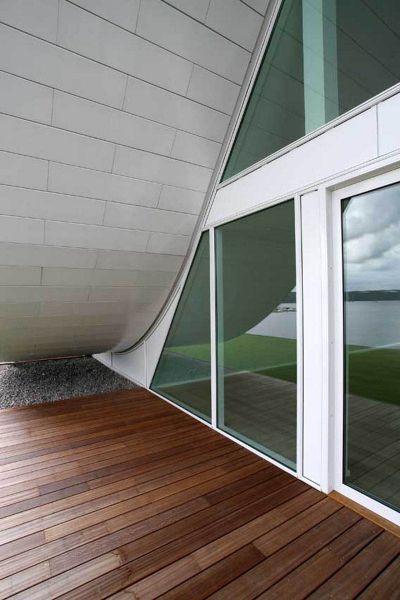 la ola _henning-larsen-architects_ vista de balcones zona baja de la ola