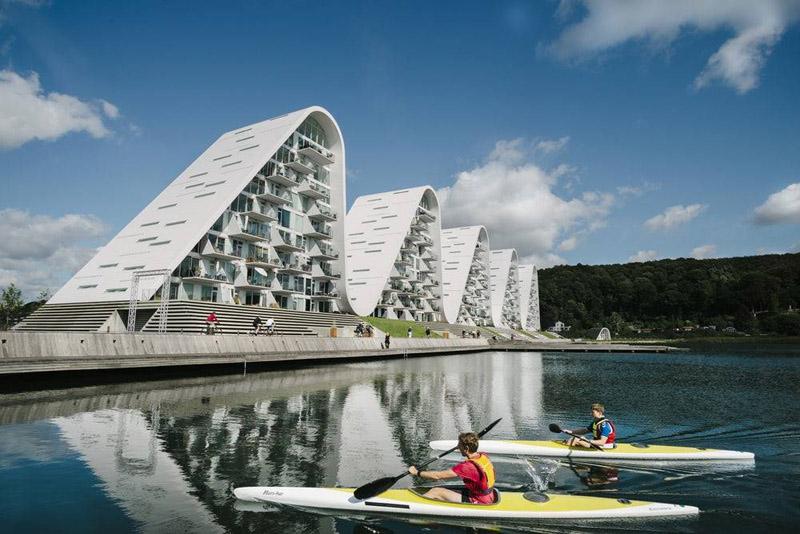 a ola _henning-larsen-architects-cinco ondas imagen
