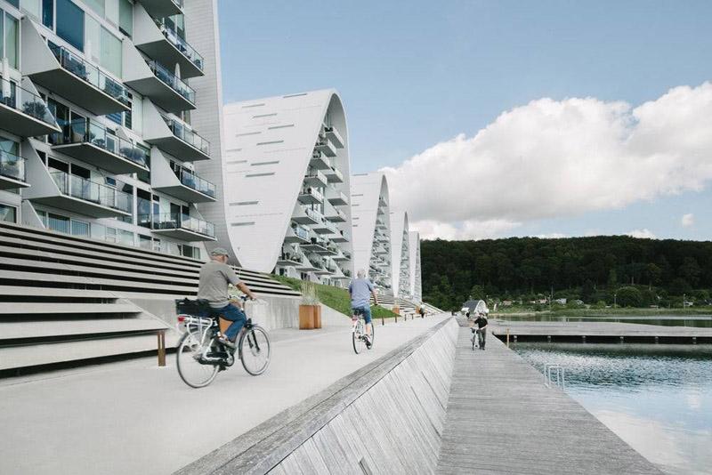 la ola _henning-larsen-architects_ vista urbanización de la zona