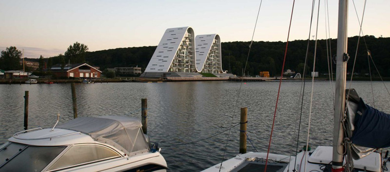 la ola _henning-larsen-architects_dos primeras torres
