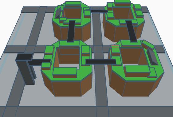 arquitectura y empresa first lego league lambda viaro 3d proyecto