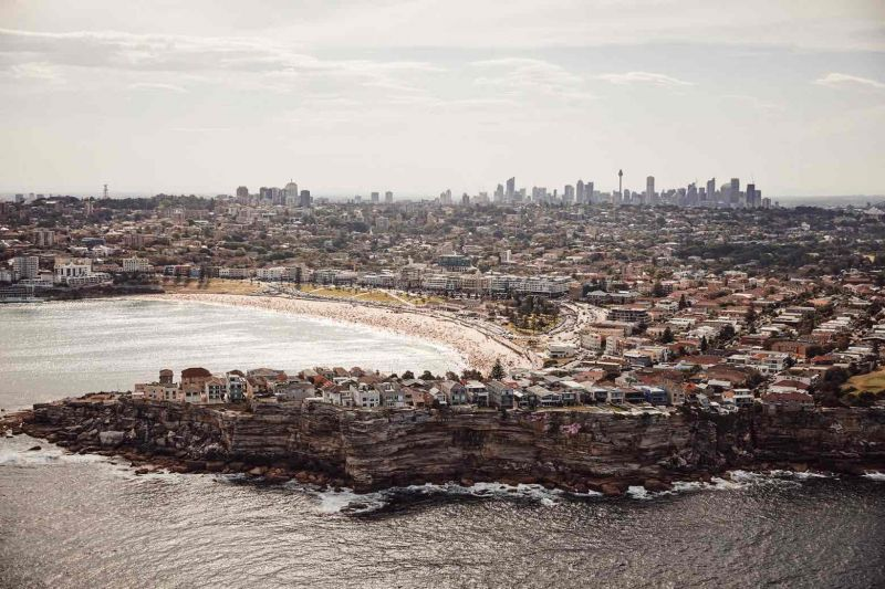 Sydney's landscape desde el barrio Bondi