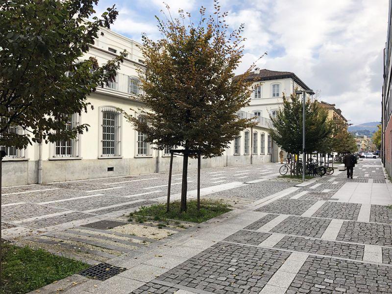 arquitectura y espacio público ex-fábrica ahora sede IAAD