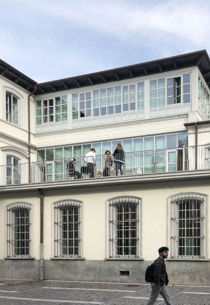 arquitectura rehabilitación ex-fábrica ahora sede IAAD