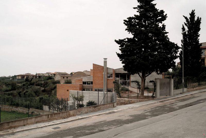 Imagen desde la entrada de la casa