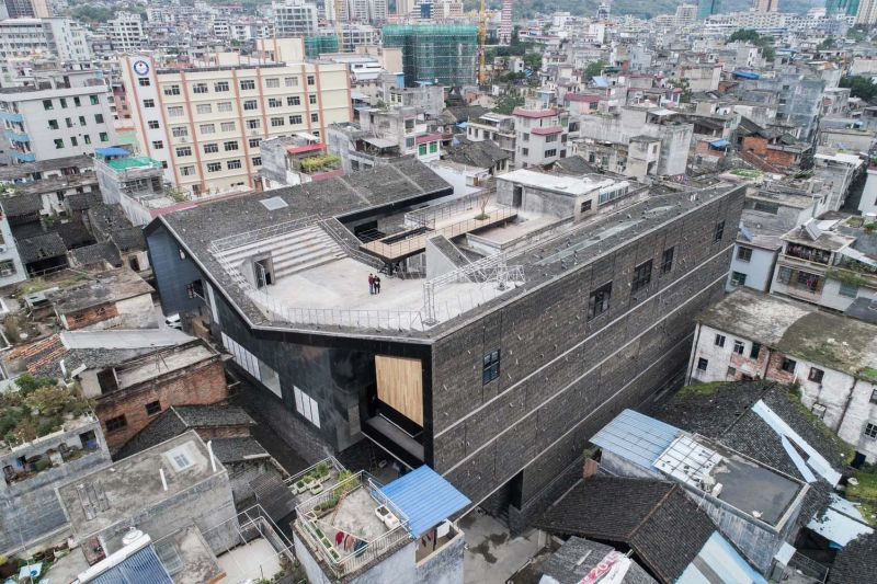 arquitectura_y_empresa_Lianzhou_Museum_cubierta