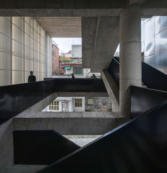 arquitectura_y_empresa_Lianzhou_Museum_escalera 2
