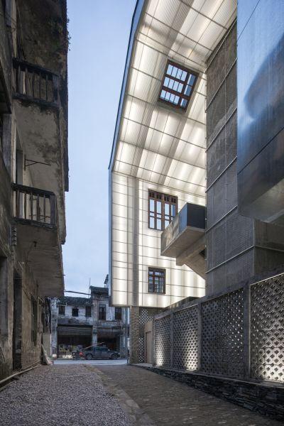 arquitectura_y_empresa_Lianzhou_Museum_cubierta interior