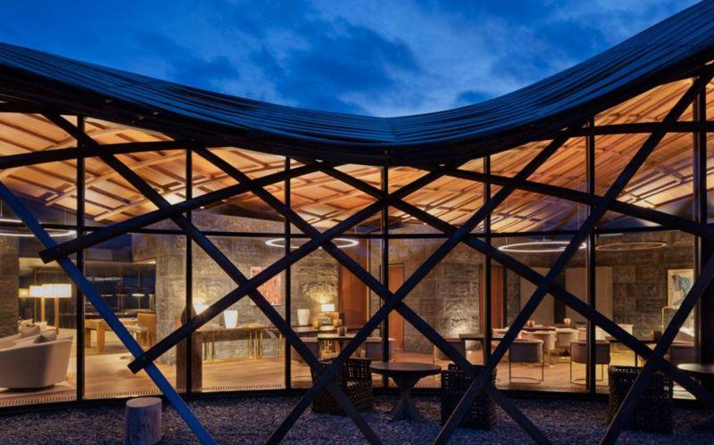 arquitectura_y_empresa_Lindis_Lodge_fachada det
