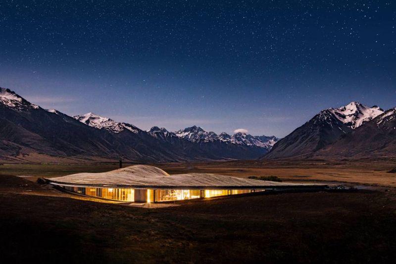 arquitectura_y_empresa_Lindis_Lodge_imagen noche