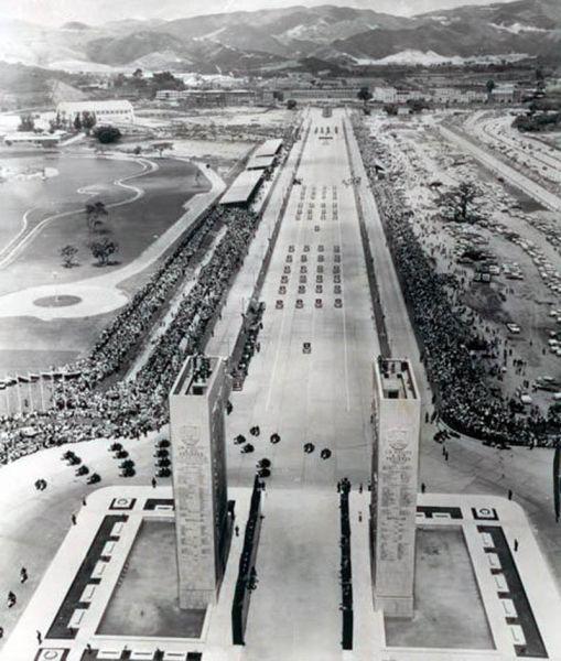 los proceres_paseo_ 1956 imagen de desfile