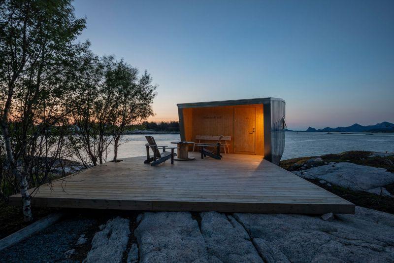 arquitectura_y_empresa_manshausen island resort_cabinas acceso 2_Kjell Ove Steinsvik
