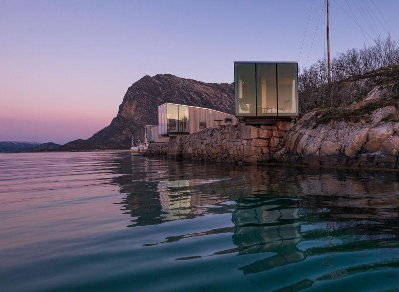 arquitectura_y_empresa_manshausen island resort_cabinas originales_Snorre Stinessen