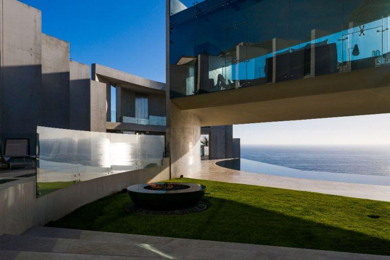 arquitectura razor house fotografia exterior terraza voladizo