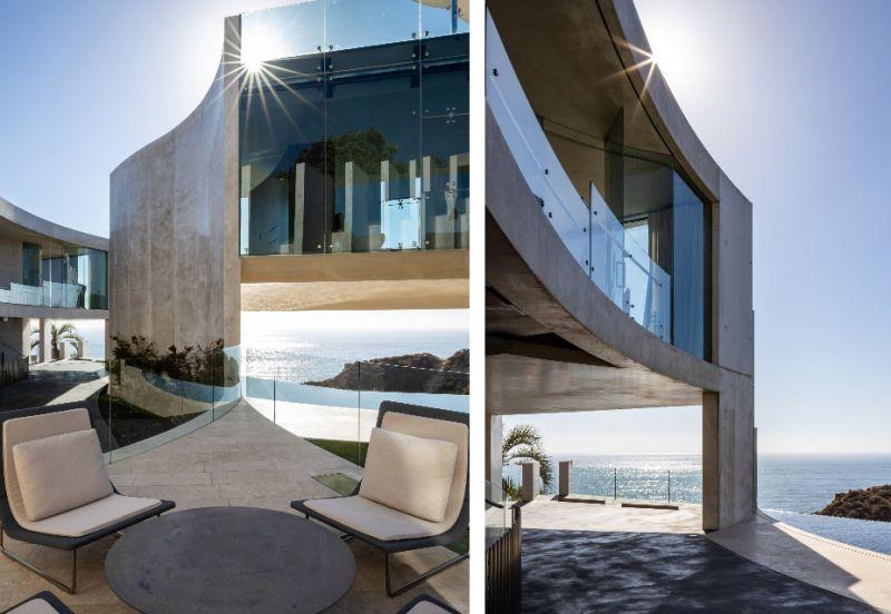 arquitectura razor house fotografia exterior terraza voladizo detalles