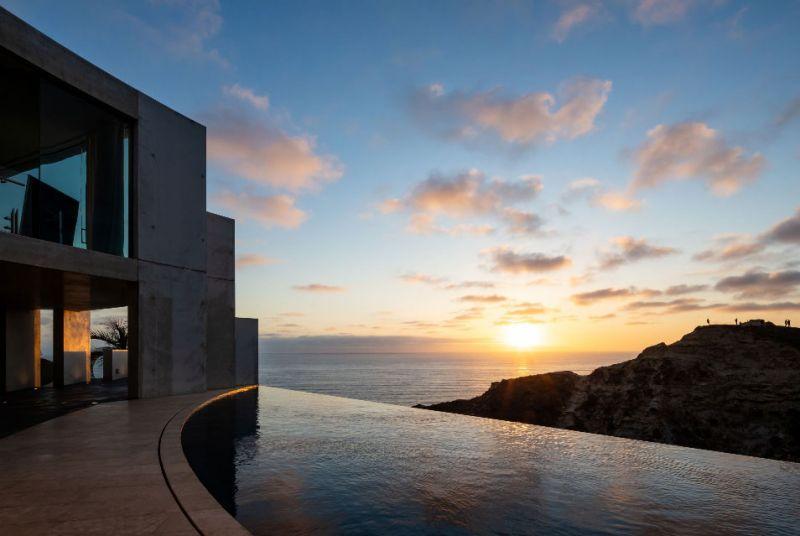 arquitectura razor house fotografia exterior terraza piscina vistas panoramicas