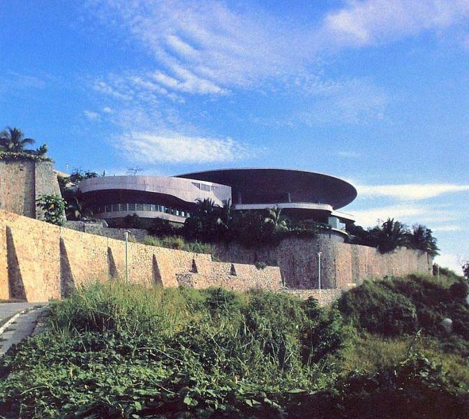 arquitectura casa arango john lautner vista exterior general
