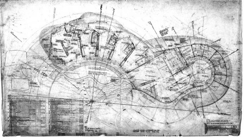 arquitectura casa arango john lautner planos planta